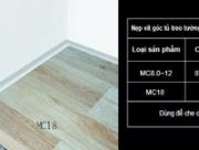Nẹp thảm nẹp chặn thảm MC8.0